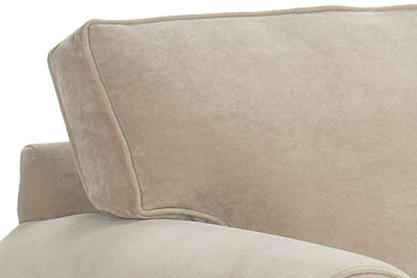 Fabric Furniture Brooke Two Cushion Fabric Upholstered Roll Arm Sofa