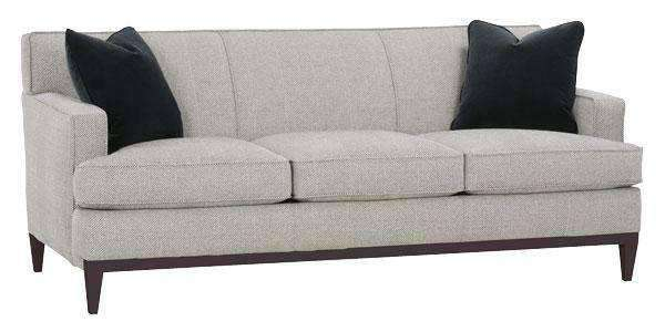 modern apartment sized furniture | Cadence Contemporary Apartment Size Sofa