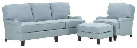 Fabric Furniture Charles Fabric Upholstered Sofa Set