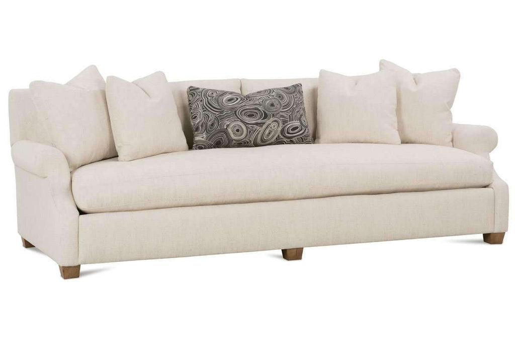 charlotte oversized bench seat sofa available in three sizes rh clubfurniture com bench seat sofa brands bench seat sofa brands