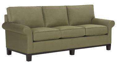 Fabric Furniture Elizabeth Fabric Upholstered Studio Sofa