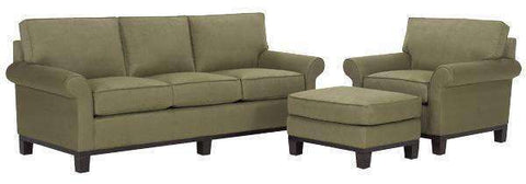 Fabric Furniture Elizabeth Fabric Upholstered Studio Sofa Set