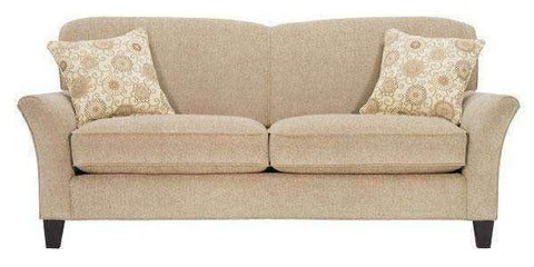 "Fabric Furniture Ella ""Designer Style"" Fabric Upholstered Studio Sofa"