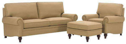 Fabric Furniture Grayson Fabric Upholstered Studio Sofa Set