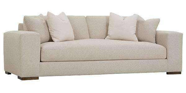 "Fabric Furniture Hilda ""Designer Style"" Large Track Arm Bench Seat Sofa"