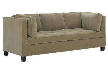 Fabric Furniture Keaton Fabric Upholstered Queen Sleeper Sofa