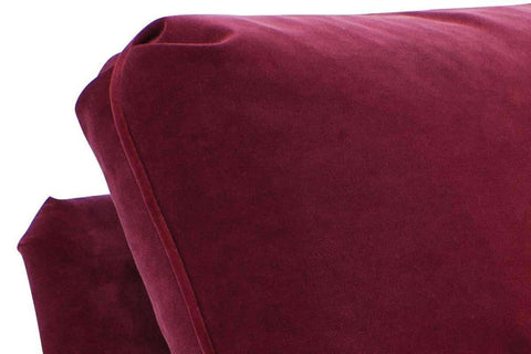 Fabric Furniture Kristen English Arm Chaise Chair With Pillow Back