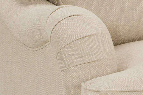 Fabric Furniture Kristen Fabric Upholstered English Arm Club Chair