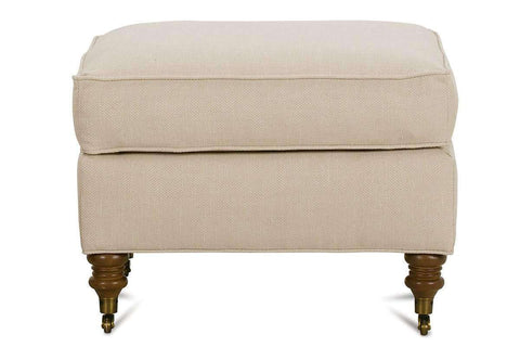 Fabric Furniture Kristen Fabric Upholstered Footstool Ottoman