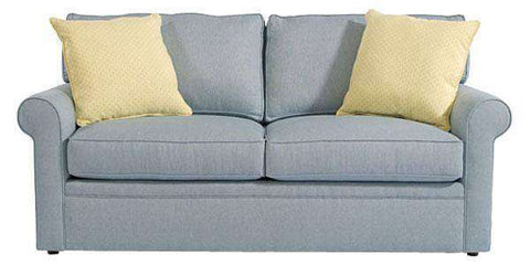 Fabric Furniture Kyle Apartment Full Size Fabric Upholstered Sleeper Sofa