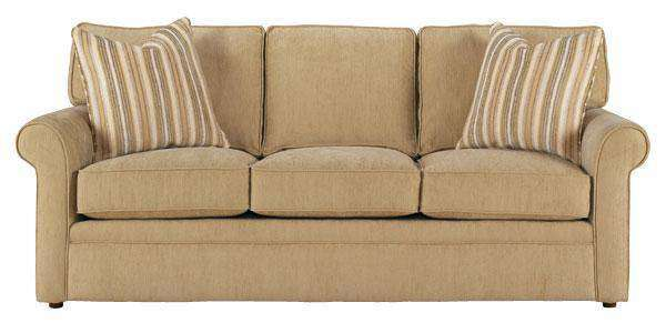 Kyle Queen Size Convertible Sleeper Sofa with Rolled Arms