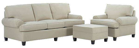Fabric Furniture Lilly Fabric Upholstered Sleeper Sofa Set