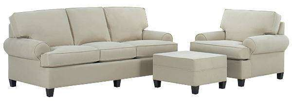 Fabric Furniture Lilly Fabric Upholstered Sofa Set