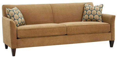 "Fabric Furniture Lyla ""Designer Style"" Wing Arm Tight Back Fabric Sofa"
