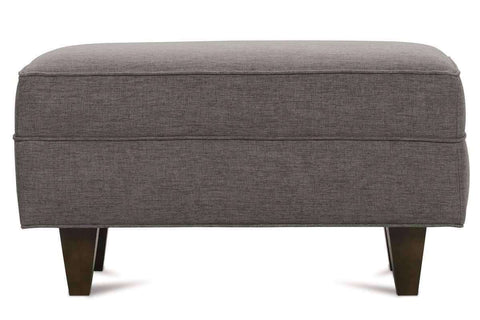 Fabric Furniture Margo Mid Century Modern Fabric Ottoman