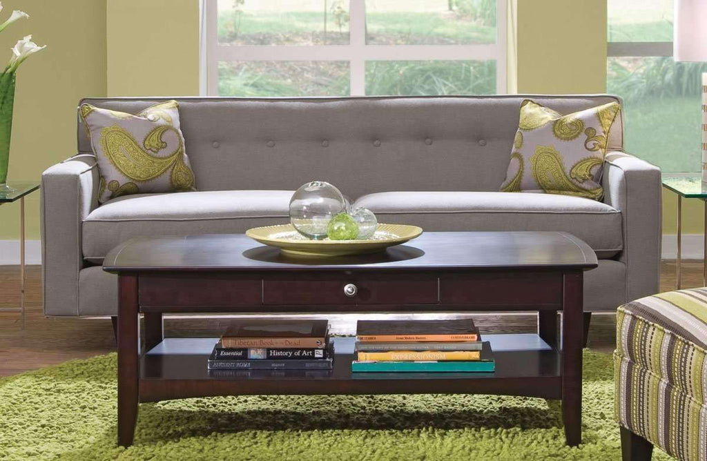 Picture of: Margo Mid Century Modern Sleeper Sofa With Button Back Club Furniture