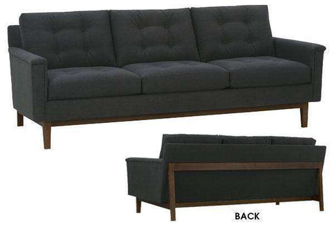 Fabric Furniture Marisol Mid-Century Modern Sofa