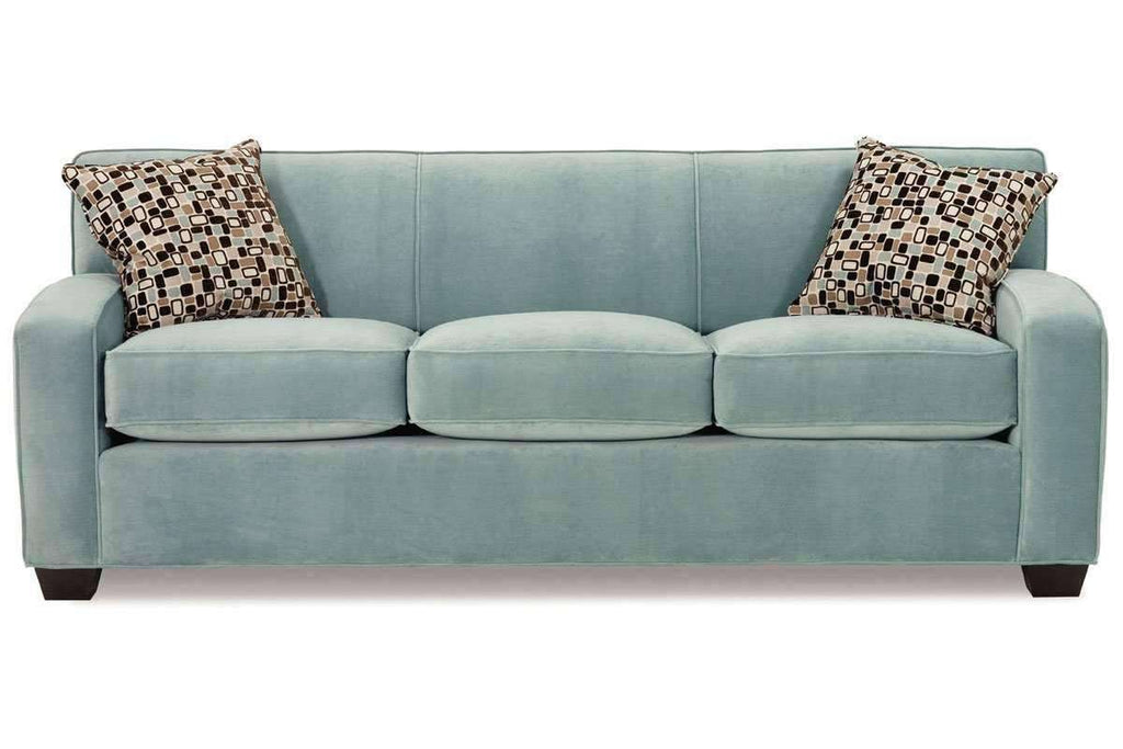 Michelle Queen Size Tight Back Three Seat Fabric Sleeper Sofa