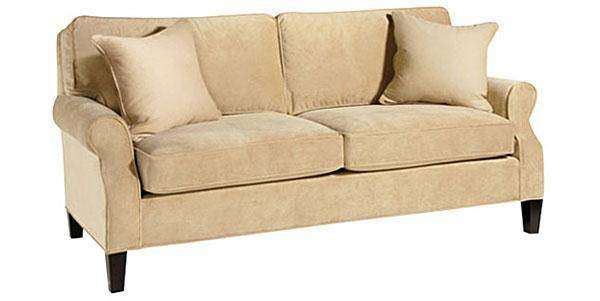Beautiful Fabric Furniture Murphy Apartment Size Sofa