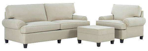 Fabric Furniture Olivia Fabric Upholstered Sofa Set