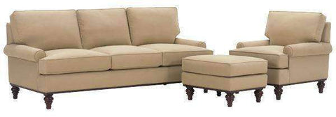 Fabric Furniture Palmer Fabric Upholstered Studio Sofa Set