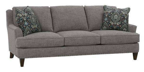 "Fabric Furniture Patrice ""Designer Style"" T-Cushion Transitional Sofa"