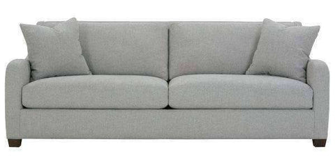 "Fabric Furniture Shari ""Designer Style"" Fabric Upholstered Track Arm Sofa"