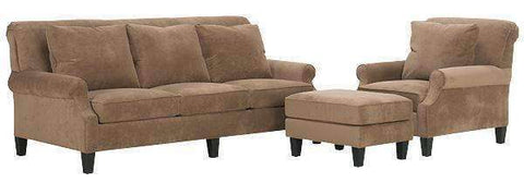 Fabric Furniture Sophia Upholstered Studio Sofa Set