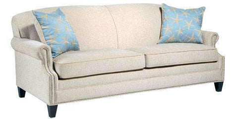 Fabric Furniture Vivian Fabric Rolled Arm Sofa