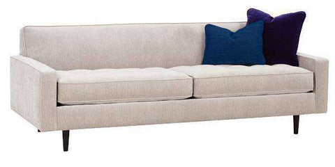 "Fabric Furniture Zoey ""Designer Style"" Modern Tufted Seat Sofa"