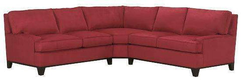 Fabric Sectional Sofa Holden Modern Three Piece Fabric Upholstered Sectional Sofa (As Configured)
