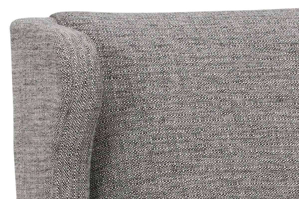 Fabric Upholstered Accent Chairs And Chaise Alicia Wingback Contemporary Fabric Accent Chair