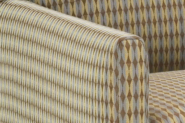 "Fabric Upholstered Accent Chairs And Chaise Allison ""Designer Style"" Fabric Upholstered Office Style Accent Chair"