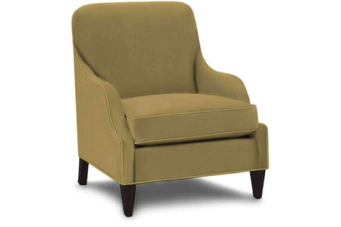 "Fabric Upholstered Accent Chairs And Chaise Colette ""Designer Style"" Upholstered Accent Fabric Chair"