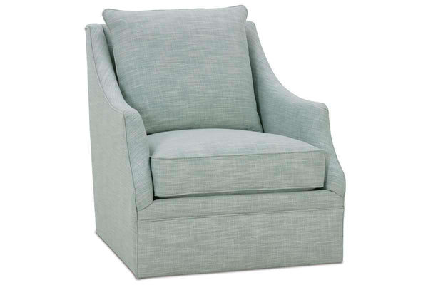 Fabric Upholstered Accent Chairs And Chaise Darcy 360 Degree Swivel Fabric Accent Chair