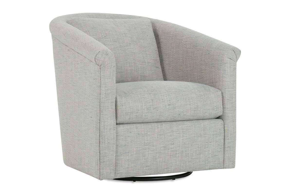 Fabric Upholstered Accent Chairs And Chaise Desiree Upholstered Swivel Accent  Tub Chair ...