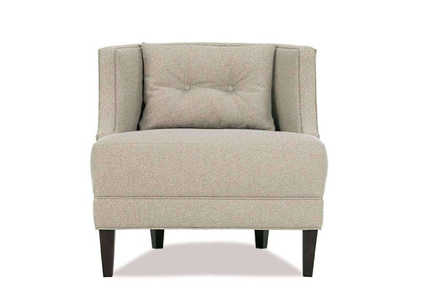 "Fabric Upholstered Accent Chairs And Chaise Elise ""Designer Style"" Contemporary Fabric Barrel Back Tub Chair"