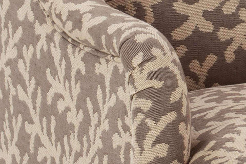 "Fabric Upholstered Accent Chairs And Chaise Eva ""Designer Style"" Tight Back Accent Chair"