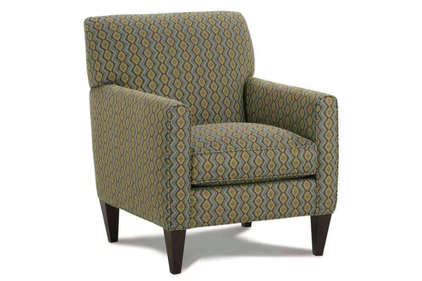 "Fabric Upholstered Accent Chairs And Chaise Kelly ""Designer Style"" Contemporary Fabric Occasional Chair"