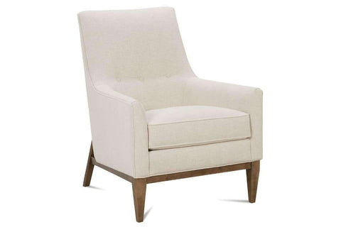 "Fabric Upholstered Accent Chairs And Chaise Mayer ""Designer Style"" Mid-Century Accent Chair"