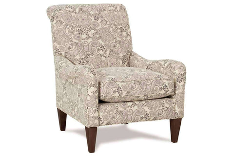 Fabric Upholstered Accent Chairs And Chaise McKenna Upholstered English Arm Accent Arm Chair