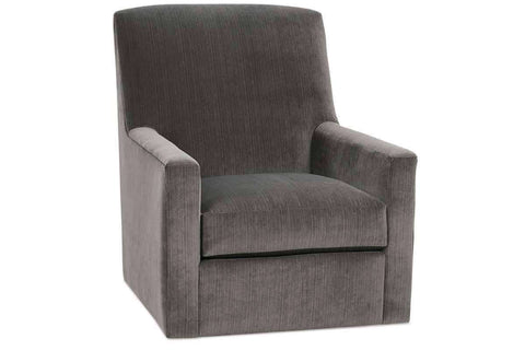 Fabric Upholstered Accent Chairs And Chaise Melinda Fabric Track Arm Swivel Glider Chair