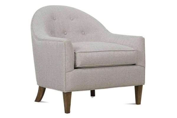 Naya Designer Style Small Fabric Accent Chair