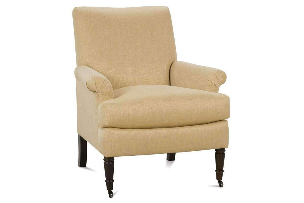 Nellie Designer Style Traditional Fabric Upholstered Accent Chair