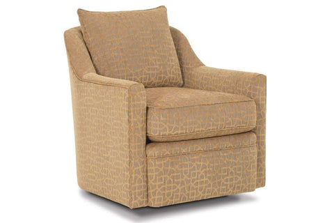 Fabric Upholstered Accent Chairs And Chaise Stella Contemporary Fabric Swivel Accent Chair