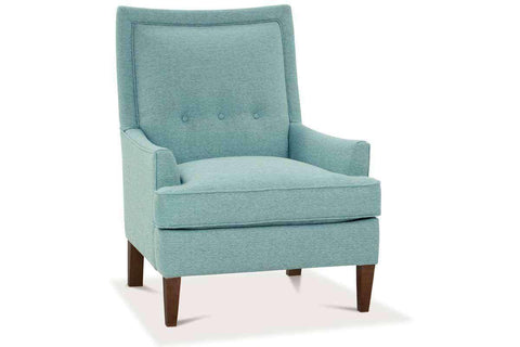 Fabric Upholstered Accent Chairs And Chaise Whitley HIS Fabric Upholstered Button Back Accent Chair
