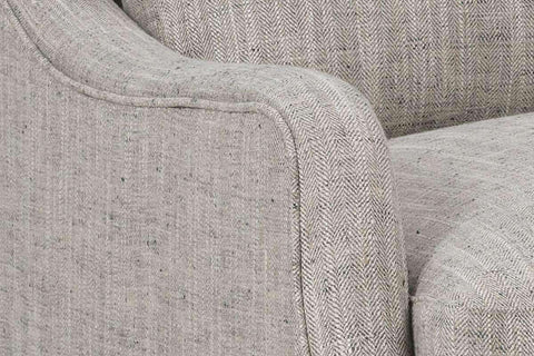 "Fabric Upholstered Accent Chairs And Chaise Yolanda ""Designer Style"" Fabric Living Room Accent Chair"