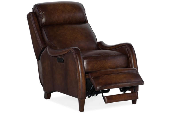 "Fairmont Dual Power ""Quick Ship"" Leather Recliner - OUT OF STOCK UNTIL 9/21/20"