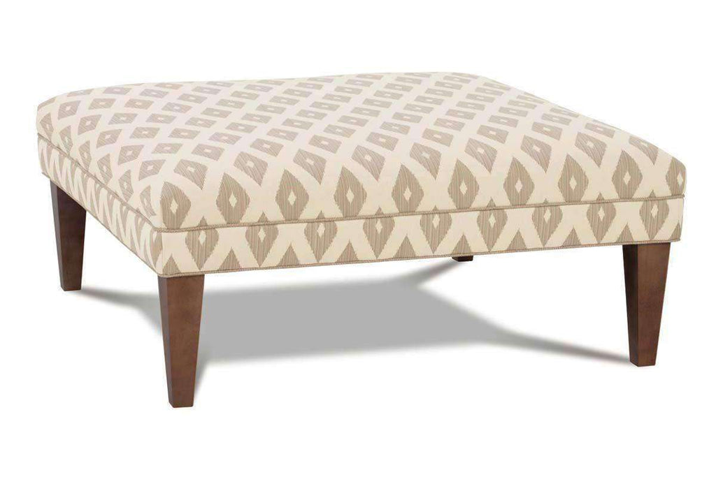 size 40 ab1c5 e836f Fisher Contemporary Fabric Upholstered Cocktail Ottoman