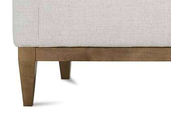 "Georgia 86 Inch ""Designer Style"" Single Bench Seat Sofa"